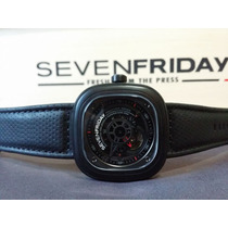 Relógio Sevenfriday P3-1 Industrial Engines Black - Original