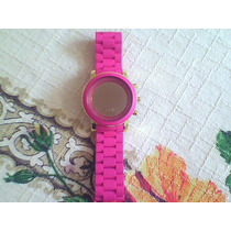 **lindo Relógio De Led Pink**atenção: Ler Todo O Anuncio Ant