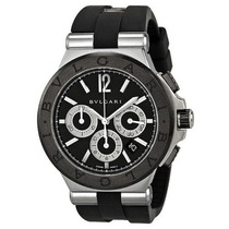 Bvlgari Diagono Chronograph Automatic Black Dial