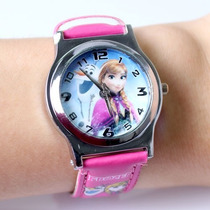 Relógio De Pulso Infantil Frozen Disney - Pronta Entrega
