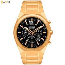 Relógio Masculino Orient Esportivo Dourado Mgssc009 P2kx