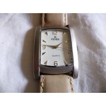 Relógio Marca Fendi No Mostrador Quartzo