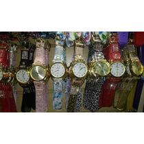 Kit/lote 10 Relógio Feminino Pulso Couro Atacado Exclusivo