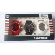 Relógio Masc. Technos Troca Pulseiras São Paulo Sao2035ag8p