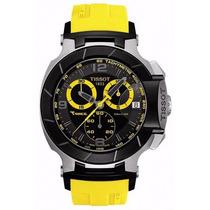 Relógio Tissot T-race Moto Gp Amarelo / Preto / Rose /