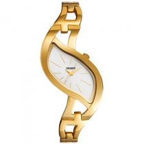 Relógio Orient Lgss0046 S1kx Dourado Feminino - Refinado
