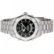 Relógio Masculino Technos Aço Anadigi 15 Atm T20557/1p