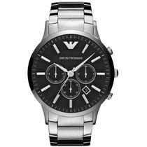 Relógio Emporio Armani Ar2460 C/ Caixa E Manual + Sedex
