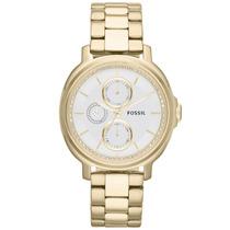 Relógio Feminino Analógico Es3354/4bn Dourado Fossil