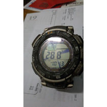 Relogio Casio Pathfinfer Pag-240t, Titanio, Triplo Sensor