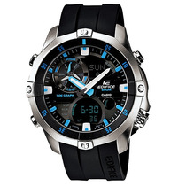 Relógio Casio Edifice Ema-100d-1av Ema100d Em 12 X S/ Juros