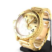 Relógio Nixon 51-30 Chrono Gold Original - Sedex Grátis!