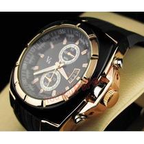 Relógio V6 Analógio Em Aço Inoxidável-belíssimo Pode Retirar