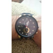 Relógio Masculino V6 - Dourado