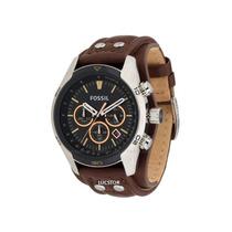 Relógio Fossil Cuff Cronografo Original Ch2891/2pn