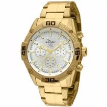 Relógio Condor Masculino Dourado Analógico Ky80114/4b