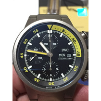 Iwc Aquatimer Chrono Titânio Ref: Iw3719-03