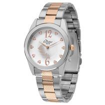 Relógio Feminino Prata E Rose Gold - Kx75247/5b Condor