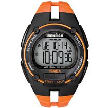 Relógio Timex Masculino Ironman 50-lap Ti5k220/n Laranja