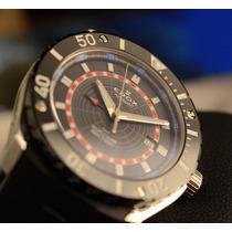 Relógio Edox Class 1 Gmt Worldtimer Automatic 93005-3-nbur