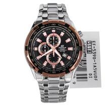 Relógio Casio Edifice Ef-539d Bronze Ef539d Ef-539 Ef-539
