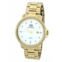 Relógio Ana Hickmann Com Pedras Ah29061h Dourado De Luxo