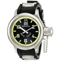 Invicta Masculino 4342 Russian Diver Collection Black Spo...