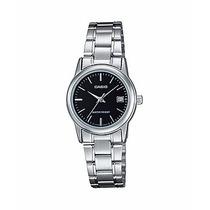 Relógio Casio Feminino Clássico Aço Prova Dágua Ltp-v002d