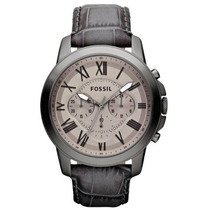 Relógio Fossil Grant Leather Fs4766 Original Pronta Entrega