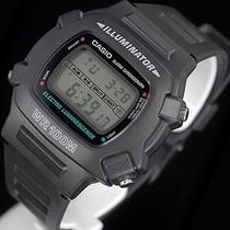 Relógio Casio W740 Cronômetro / Timer Prova Dágua 100 Mts