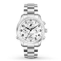 Relógio Luxo Bulova Precisionist 96b183 Orig Chron Anal Prta