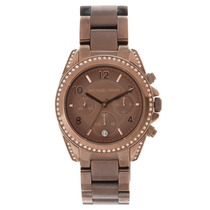 Relógio De Luxo Michael Kors Mk5493 Chronograph Analógico