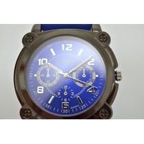 Relógio Aeropostale Azul Masculino Original Novo Na Caixa