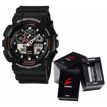 Relógio Casio Original G-shock Grande Modelo Ga100-1a4dr