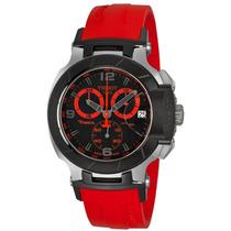 Lindo Relógio Tissot T-race Moto Gp Vermelho12 X Sem Juros