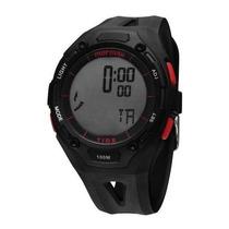 Relógio Mormaii 9259m/8r Preto Pulseira Plástico Wr 100m Nfe