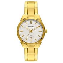 Relógio Orient Feminino Dourado C/ Calendário Fgss1098 S1kx