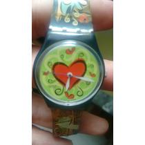 Relógio Swatch Swiss 1997 Com A Pulseira Danificada Origina