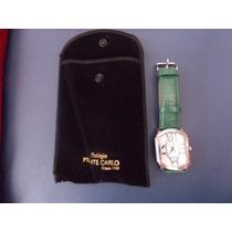 Relógio Da Monte Carlo Joias-verde E Romano