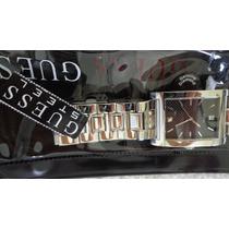 Relógio Guess Masculino Mod. G 10196 G Aço Inoxidável Lindo