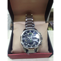 Relógio Casio Edifice Efr540 Prata Preto Sedex Grátis