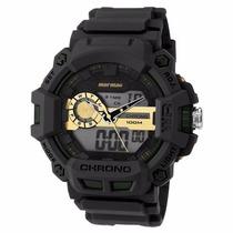 Relógio Mormaii Anadigi Moad1105b/8y - Garantia E Nf