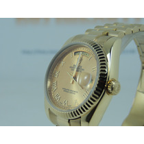 Relógio Date Just President Mostrador Em Algarismo Romano Lx