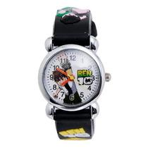 Relógio Ben10 Infantil Criança Pulseira 3d