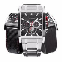 Relógio Technos Masculino Troca Pulseiras Performance Os2aaf