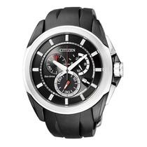 Relógio Citizen Cronógrafo Eco Drive At0831-04e At8020