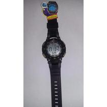 Relógio Masculino Digital Tecnet Led Resistente A Água Shock