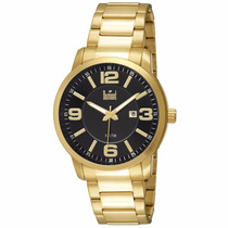 Relógio Dumont Masculino Dourado Du2115bo/4c