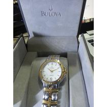 Relógio Bulova Quartz Swiss Seminovo