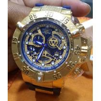 Relógio Invicta Subaqua Original, Fundo Azul Lançamento